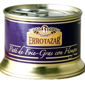 Paté de foie gras con hongos