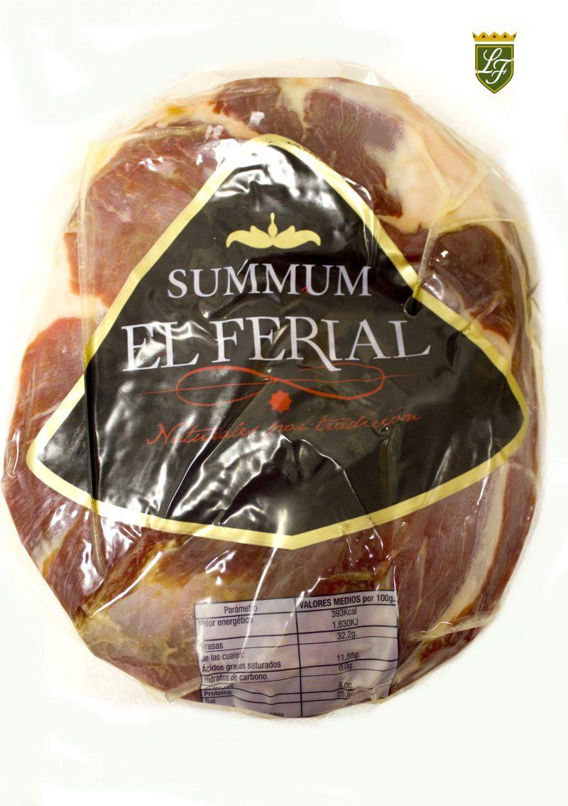 """ALT=""""Paleta Duroc pulida Summum El Ferial"""""""