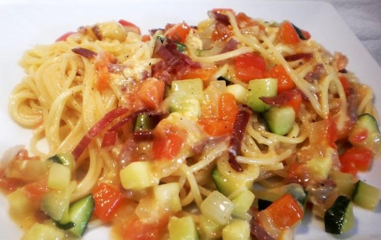 espaguetis carbonara lazaro fernandez