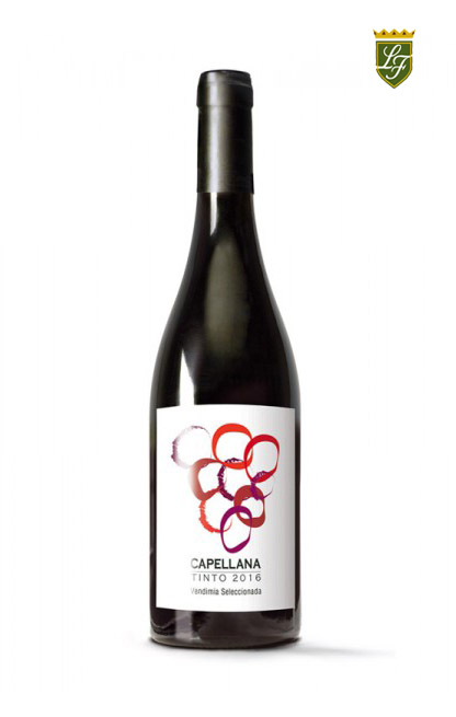 """ALT=""""vino tinto Capellana Lázaro Fernández"""""""