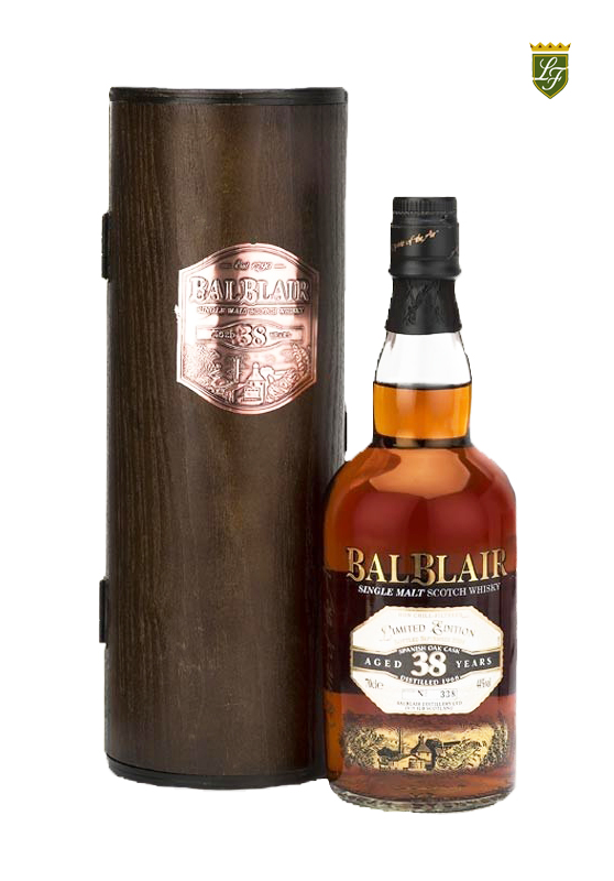 "ALT=""whisky reserves 38 years Lázaro Fernández"""